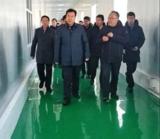 包头市委书记张院忠一行调研田丰公司